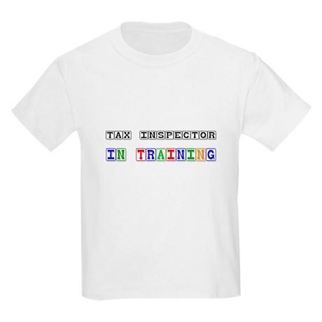 Tax Inspector In Training Kids Light T-Shirt