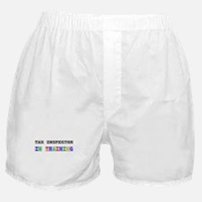 Tax Inspector In Training Boxer Shorts