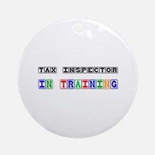 Tax Inspector In Training Ornament (Round)