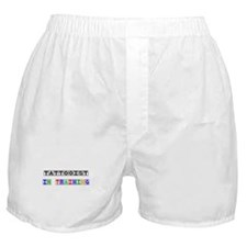 Tattooist In Training Boxer Shorts