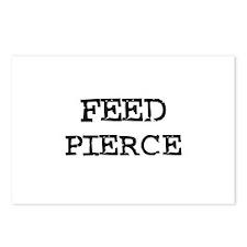Feed Pierce Postcards (Package of 8)