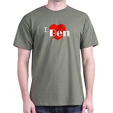 I Love Ben T-Shirt