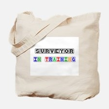 Surveyor In Training Tote Bag