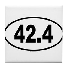 42.4 Tile Coaster