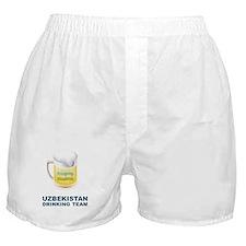 Uzbekistan Drinking Team Boxer Shorts