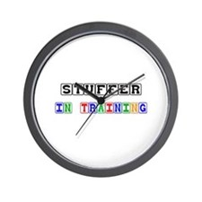 Stuffer In Training Wall Clock