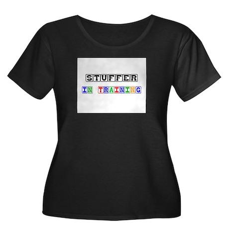 Stuffer In Training Women's Plus Size Scoop Neck D