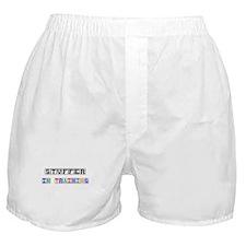 Stuffer In Training Boxer Shorts