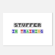 Stuffer In Training Postcards (Package of 8)