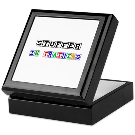 Stuffer In Training Keepsake Box