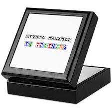 Studio Manager In Training Keepsake Box