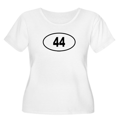 44 Womens Plus-Size Scoop Neck T