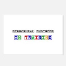 Structural Engineer In Training Postcards (Package