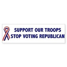 Support Our Troops! Bumper Bumper Sticker