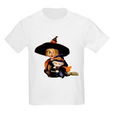 Mother and Child Witch T-Shirt
