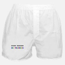 Stage Manager In Training Boxer Shorts