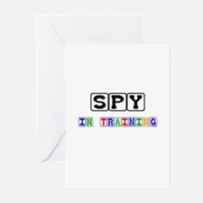 Spy In Training Greeting Cards (Pk of 10)