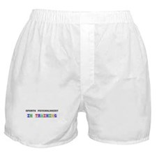 Sports Psychologist In Training Boxer Shorts