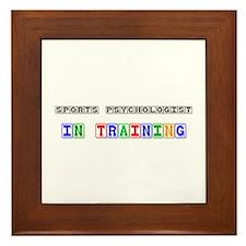 Sports Psychologist In Training Framed Tile