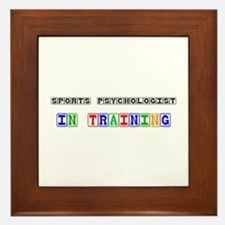 Sports Psychologist In Training Framed Tile