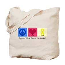 Peace Love Cure LC Tote Bag
