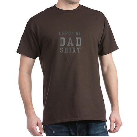 Official Dad Shirt Dark T-Shirt