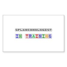 Splanchnologist In Training Rectangle Sticker