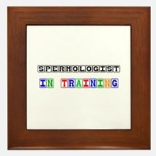 Spermologist In Training Framed Tile