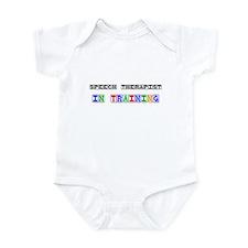 Speech Therapist In Training Infant Bodysuit