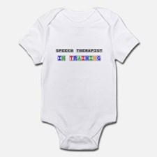 Speech Therapist In Training Infant Bodysuit