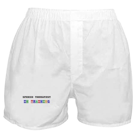 Speech Therapist In Training Boxer Shorts
