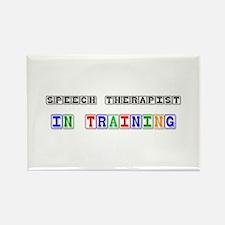 Speech Therapist In Training Rectangle Magnet