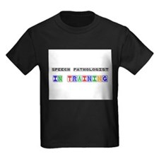 Speech Pathologist In Training Kids Dark T-Shirt