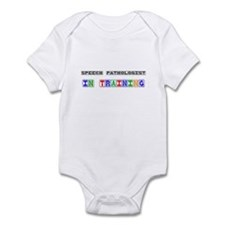 Speech Pathologist In Training Infant Bodysuit