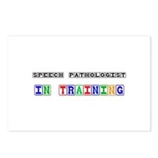 Speech Pathologist In Training Postcards (Package