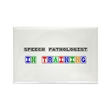 Speech Pathologist In Training Rectangle Magnet