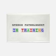Speech Pathologist In Training Rectangle Magnet