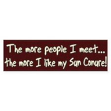 More People Sun Conure Bumper Bumper Sticker