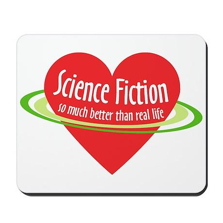 Love Science Fiction Mousepad