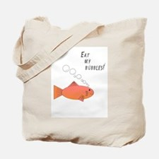 Eat my bubbles - fish - Tote Bag