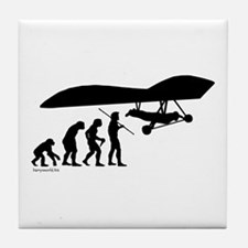Hang Glider Evolution Tile Coaster