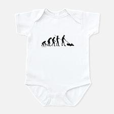 Lawnmower Evolution Infant Bodysuit