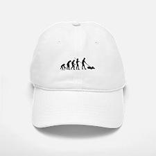 Lawnmower Evolution Baseball Baseball Cap
