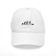 Lawnmower Evolution Baseball Cap