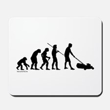 Lawnmower Evolution Mousepad