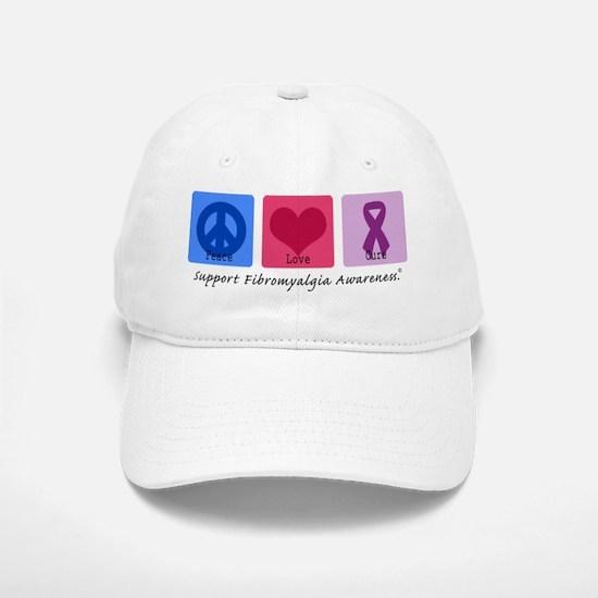 Peace Love Cure FM Baseball Baseball Cap