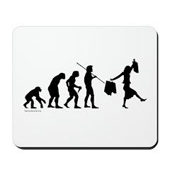 Shopper Evolution Mousepad