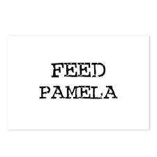 Feed Pamela Postcards (Package of 8)