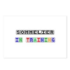 Sommelier In Training Postcards (Package of 8)