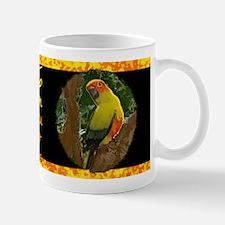 Jungle Sun Conure Mug